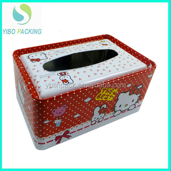 Factory sale square tin custom design size shape with best price FDA SGS