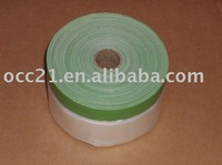 pre-taped plastic drop film(cloth tape)