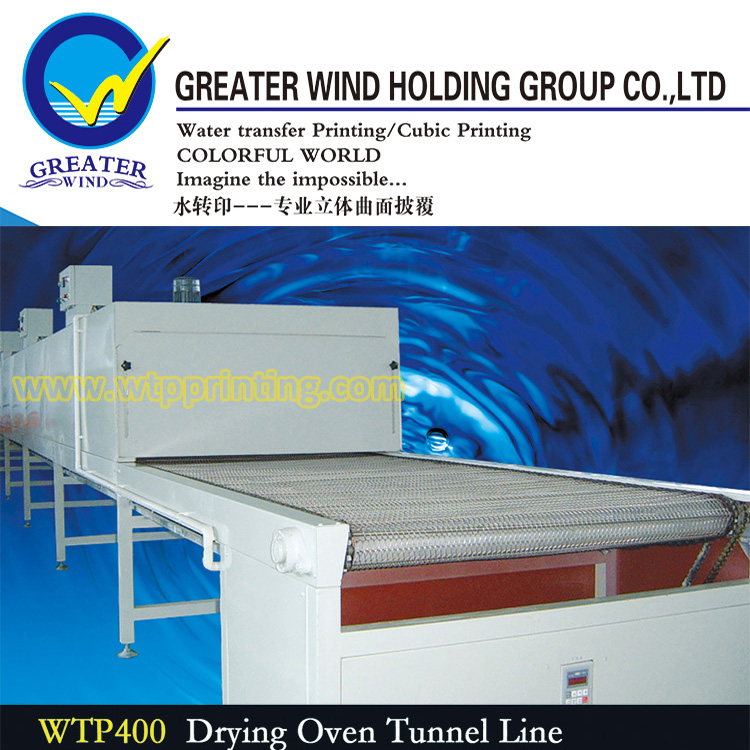 Greater Wind 10m water transfer printing Equipment Drying oven tunnel line