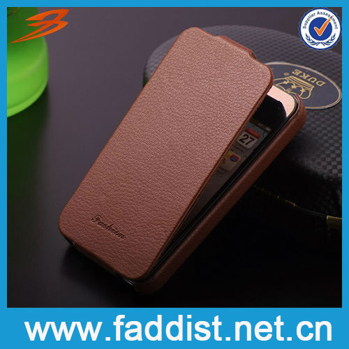 Flip cover for iphone 4 4s leather case