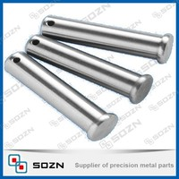 Custom Machining Aluminum High Polished Clevis Pin