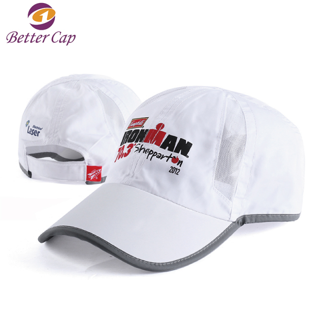 wholesale custom made in china guangzhou factory dryfit running baseball cap