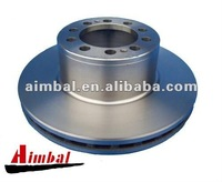 Truck brake disc compatible with Mercedes
