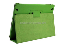 2014 new design standing flip leather case cover for ipad air