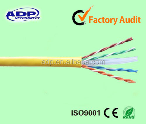 4 pairs UTP systimax cat6 cable network cable price per meter