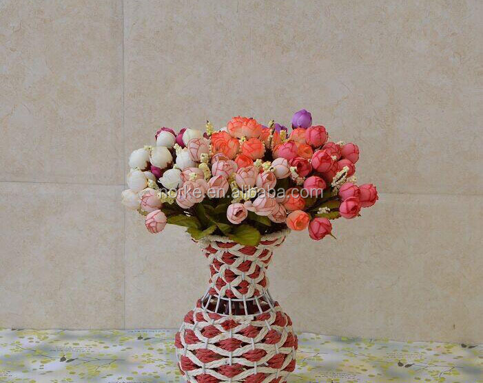 2014 Hot sale wedding decoration artificial flower bouquet