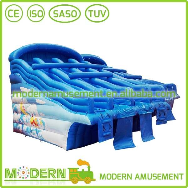 Modern Amusement Water Slide Inflatable Bounce Castle