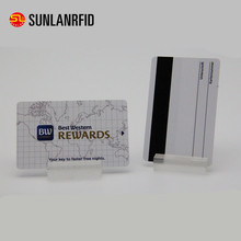 rfid magnetic stripe card and 125Khz rfid hotel key card