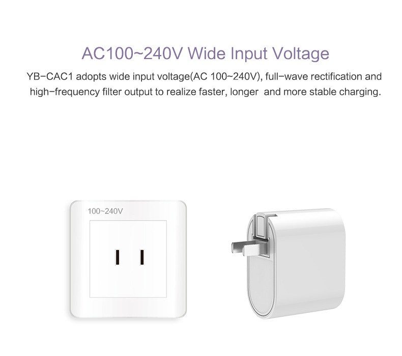 Yoobao Type-C adapter Type-C+USBA for Macbook