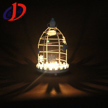 DH-036 hollow out iron art birdcage candlestick christmas hanging lantern