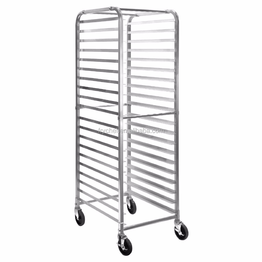 Stainless Steel Commercial Bun Pan Bakery Rack - 20 Sheet