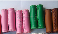 colorful hand made soft bicycle grips for beach cruiser bike