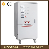 TNS 30KVA three phase variac voltage regulators stabilizers power surge protector high low voltage protection