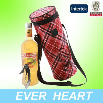 Wine cooler plastic bag promotional cooler bag
