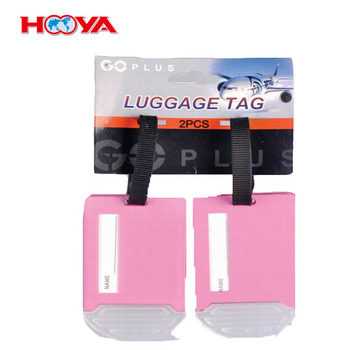 funny bulk plastic wholesale Luggage Tag