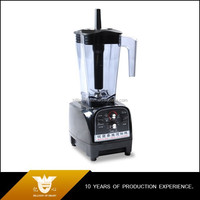timing function industrial robust motor ice fruit electric food mixer