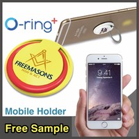 O-ring+ cheap Finger Ring Novelty Multiple cell phone ring stand