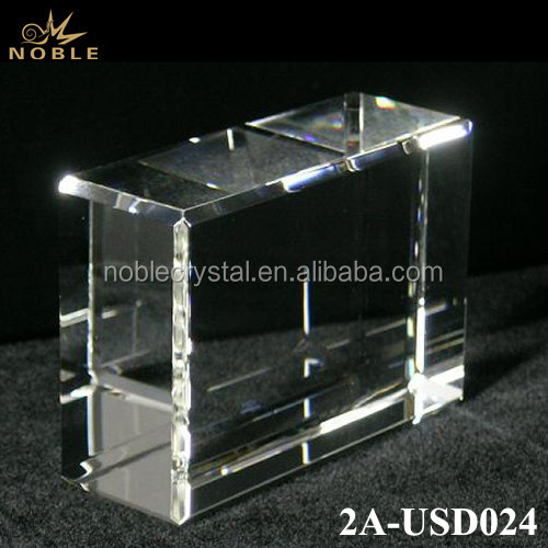 Wholesale Blank Crystal Cube For Custom Engraved