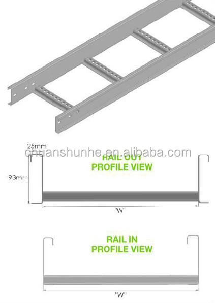 Cable Ladder for cable tray