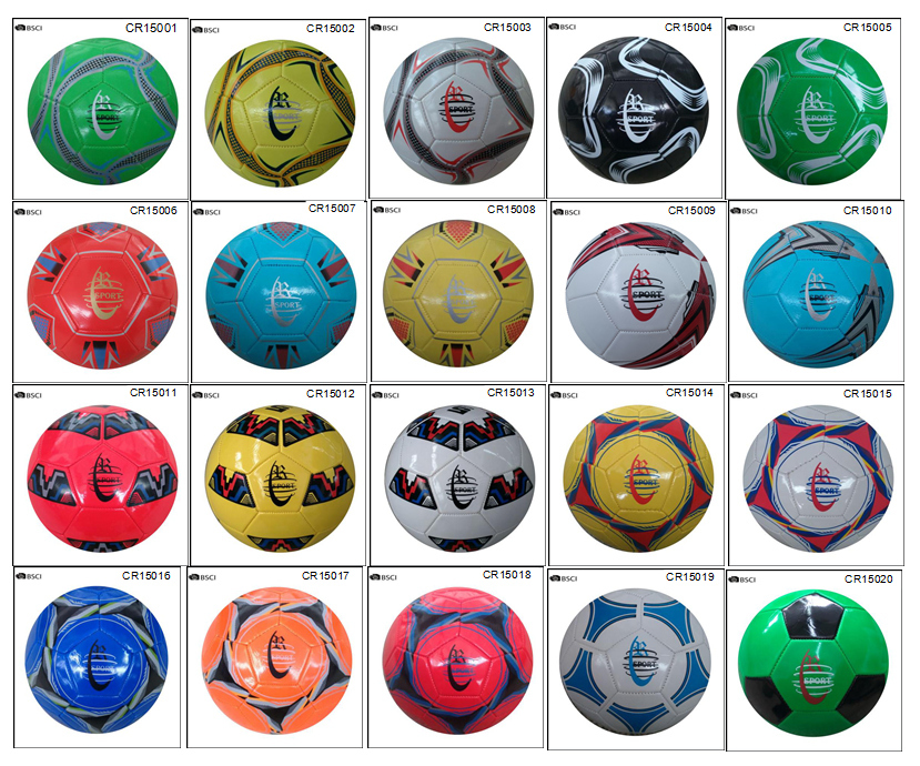 Stock of soccer ball size 5