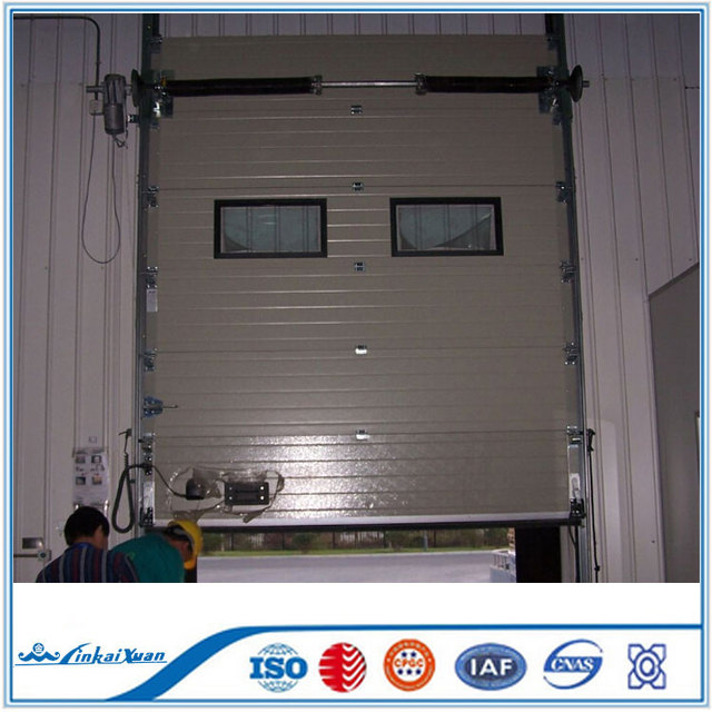 China cheap steel automatic industrial door hot selling 2017