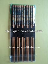 Reusable bamboo family chopsticks various specification