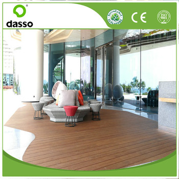 New generation light color solid decking 2017 superior to wood