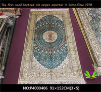 Hot sale handmade silk rugs and carpets fashion design luxury floral wall to wall carpet