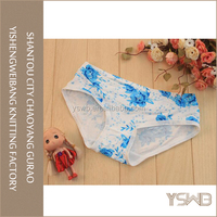 Customized colors breathable women fashion panties imported