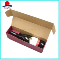 High Quality Cheap Folding Wine Box, Wine Glass Boxes