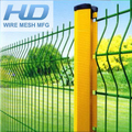 Low price welded wire mesh fence 3D curvy triangle bends fence direct factory