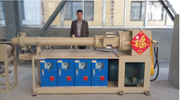 rubber tapping machine/plastic extruder machine/extruded rubber sliding window machine