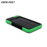 Solar Power Bank 5000mah high capacity power bank, battery charger for Mobile phone