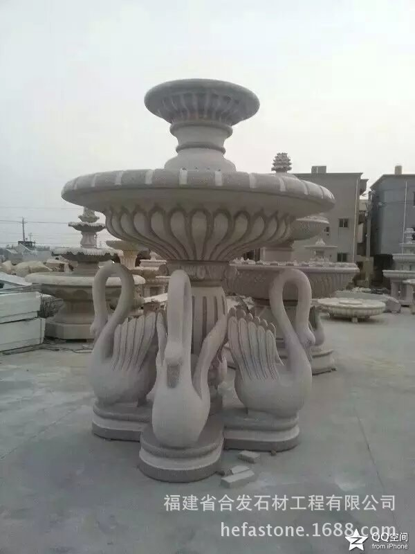 High quality artifical handmade marble fountain for sale