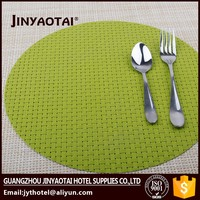 wholesale silicone plastic sunflower vinyl placemats for restaurants