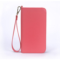 Pink universal mobile/cell phone wallet case for iphone 6s