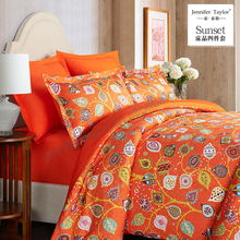 Luxury bedding set in 4pcs comforter set/wedding embroidery