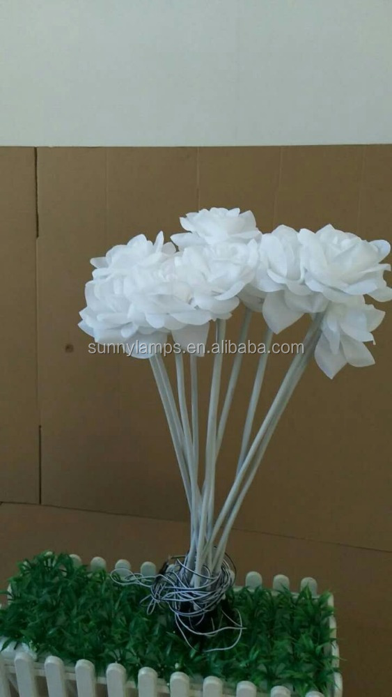 Packaging White Garland Bouquet Led Rose <strong>Flower</strong>, Gift Meriden Ct Drawing Led Rose <strong>Flower</strong>