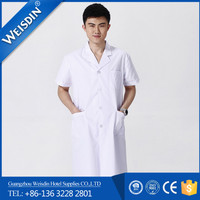 Factory cheap price hot sale poplin hospital doctor apron