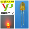 5mm Round Orange flashing led diode