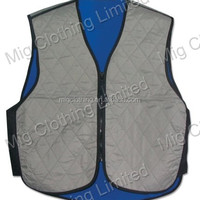 Evaporative Cooling Vest For Motorcycle Sports