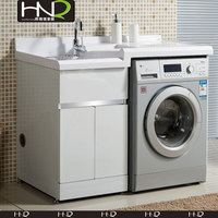 Custom classic laundry wash cabinet stainless steel material counter cabinets