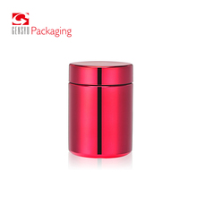 20oz red hdpe chromed pill bottle/Protein Powder deodorant packaging