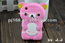silicon Rilakkuma cute covers for 3G 3GS wholesale