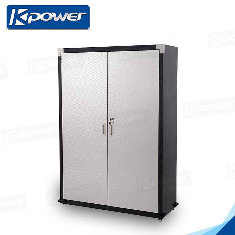 Lightweight 48 Inch Double Doors Metal Clothes Storage Cabinet