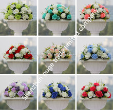 Artificial Silk Wedding Decoration Rose Flower Ball for Flower Arrangements
