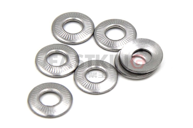 Stainless Steel 304 Serrated Safety Lock Washer
