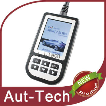 Aut100 Universal OBD2 / EOBD2 Handled Auto Scanner with Color LCD Screen