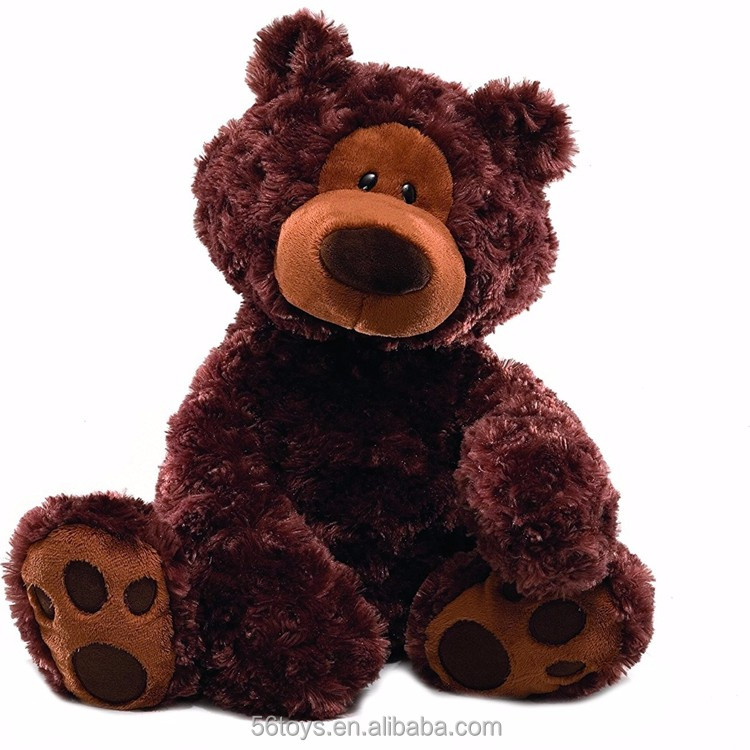 Voice recording Custom made recordable plush brown bear doll