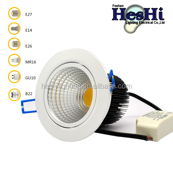 Small decline 20w down light LED 220v ceiling Excellen heat exchange